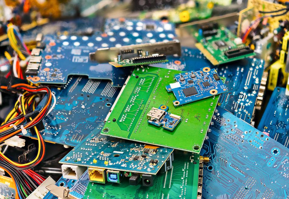 ● recyclage déchets électroniques
